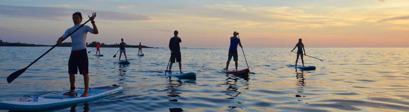 Paddle Boarding in the Galapagos