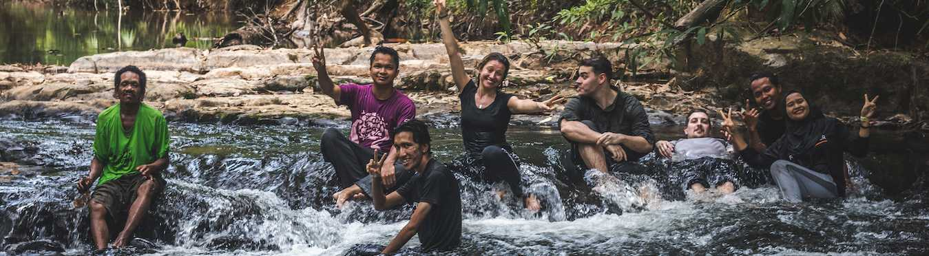 Jungle Trek for Conservation in Malaysia