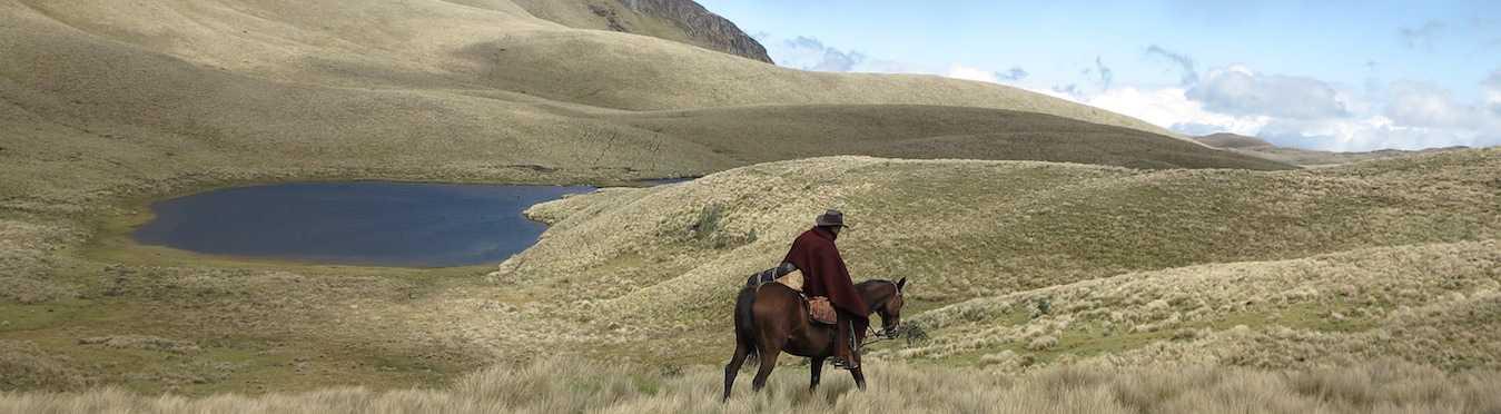 Piñan Trail, Ecuador Horseback Riding Adventure