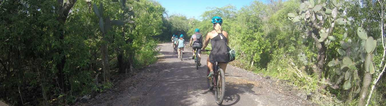 Galapagos Bike Tour